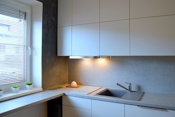 kitchen remodelling detail white cabinets